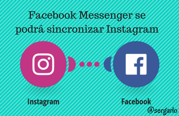 Facebook, messenger, redes social, social media, instagram, sincronizar