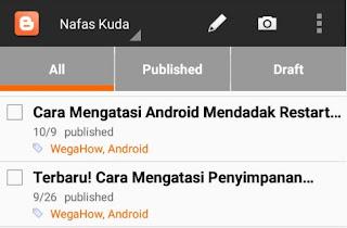 11 Aplikasi Untuk Membantu Mengelolah Blog di Android