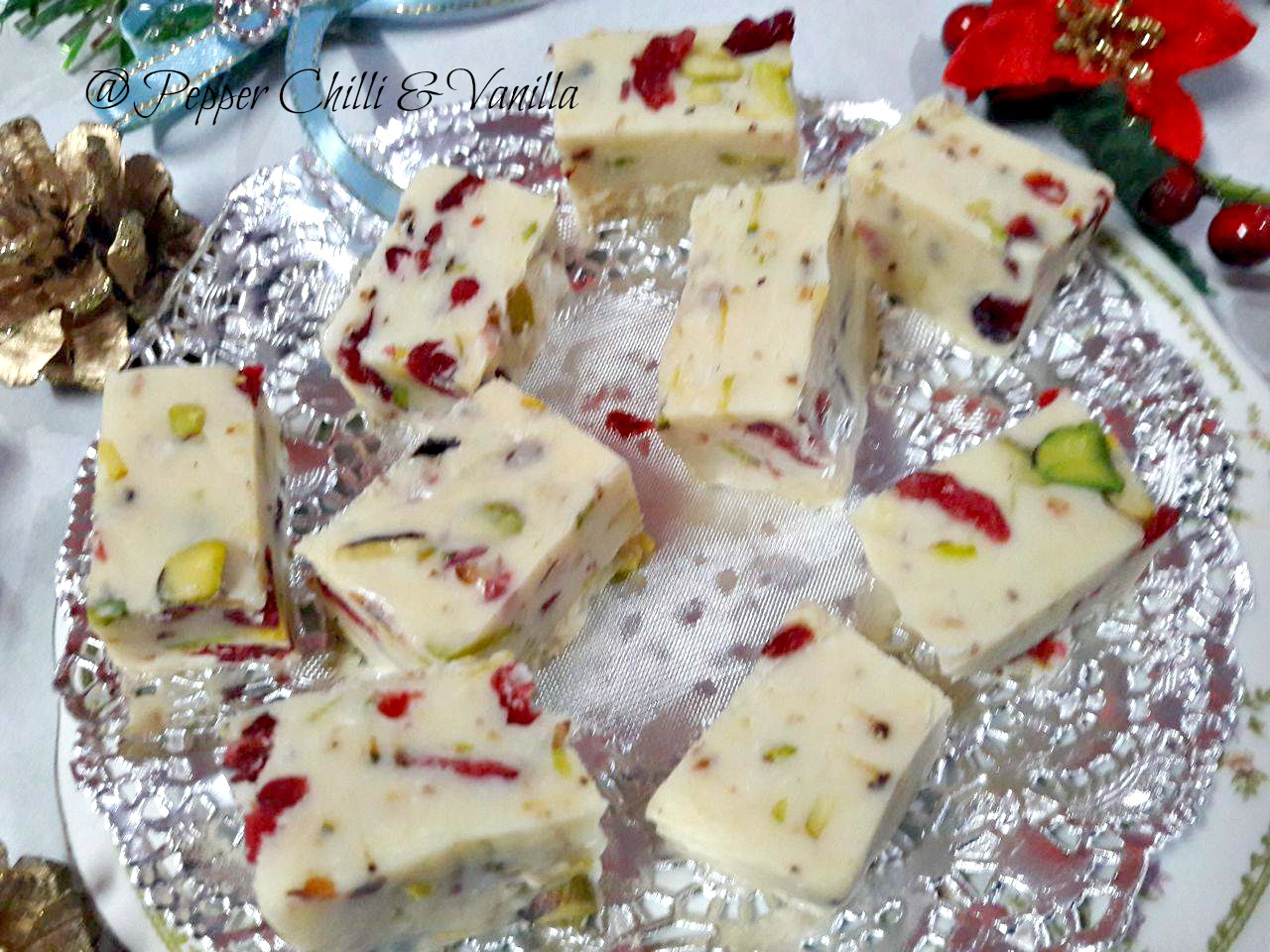 white chocolate fudge easy