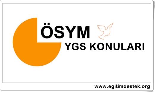 YGS Geometri Konuları