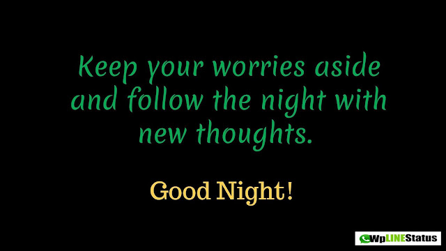 (Best) Good Night Wishes, Status, Quotes & Messages for Whatsapp and Facebook 2019