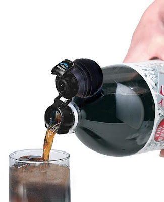 re-pressurizes soft drinks bottle
