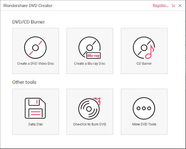 تحميل برنامج صانع اقراص الدي في دي Wondershare DVD Creator