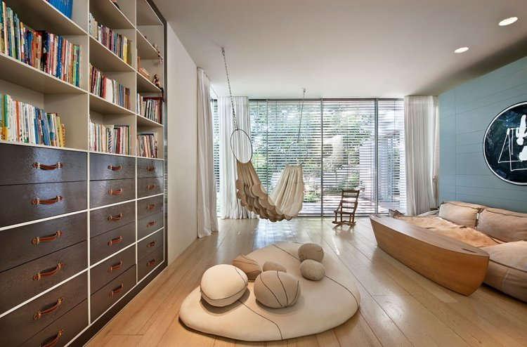 Interior Ruang Tamu Minimalis Lesehan