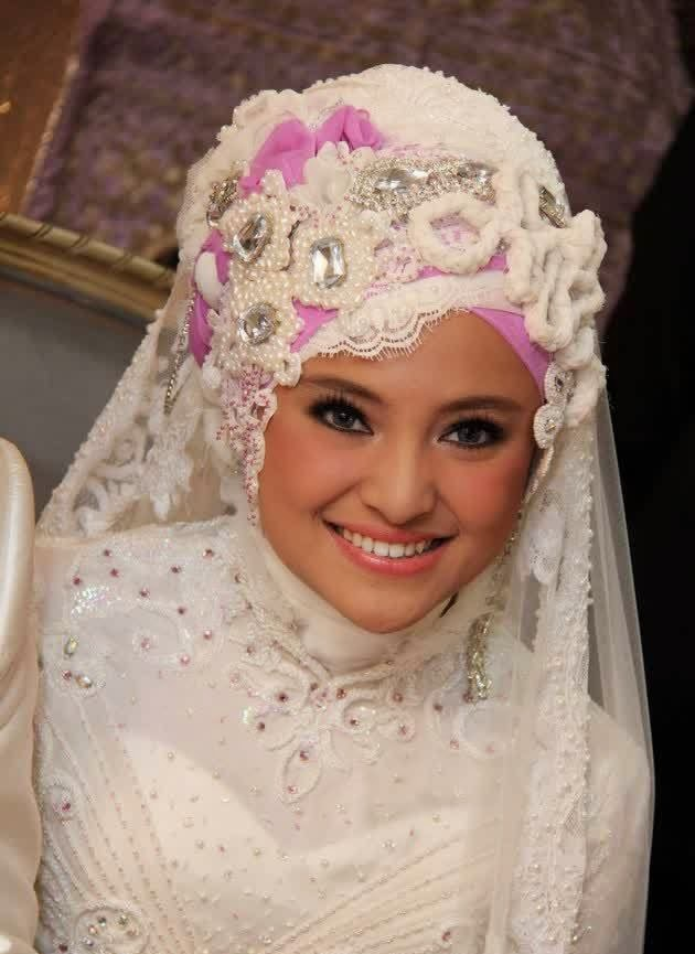 Hijab Pengantin Marshanda