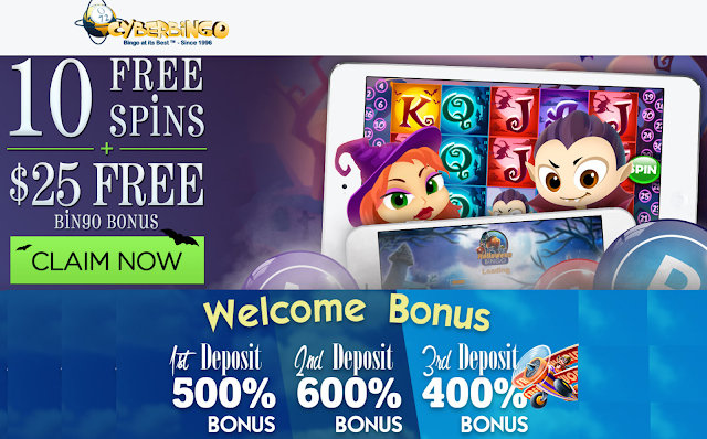 Cyber Bingo Welcome Bonuses