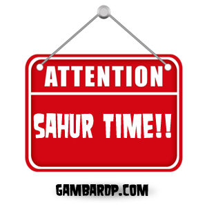 DP BBM - Attention Sahur Time