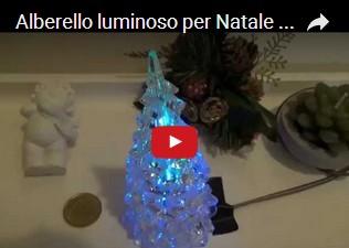 Alberello luminoso per Natale con Arduino UNO R3 e LED RGB