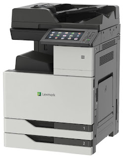de Multifunction Color Laser beam Printer Lexmark CX921de Drivers Download