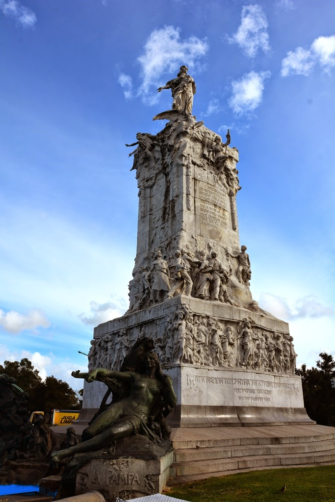 Monument of the Spaniards Buenos Aires