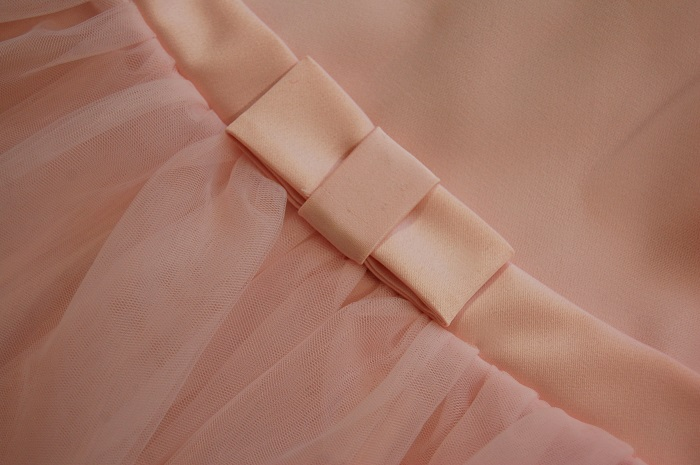 Różowa sukieneczka z tiulu