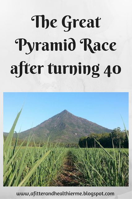 Great Pyramid Race after turning 40