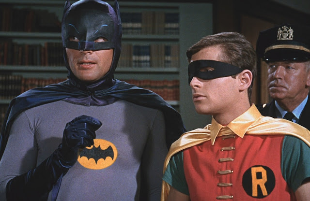 Image: Batman (Adam West) and Robin (Burt Ward), by Jack Hargreaves on Flickr