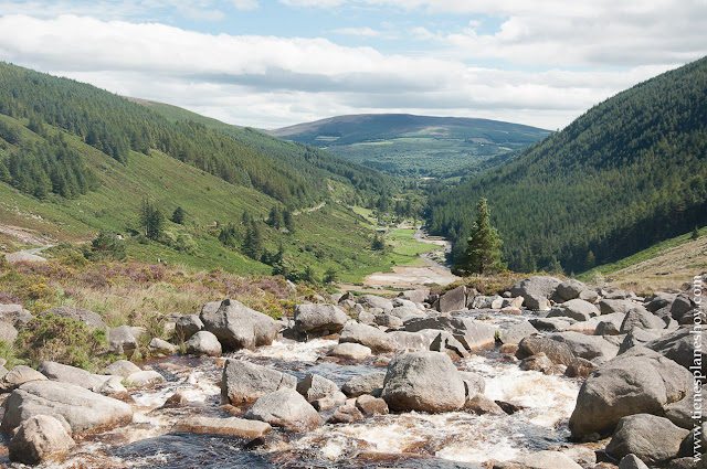 Paisaje Wicklow Mountains Irlanda