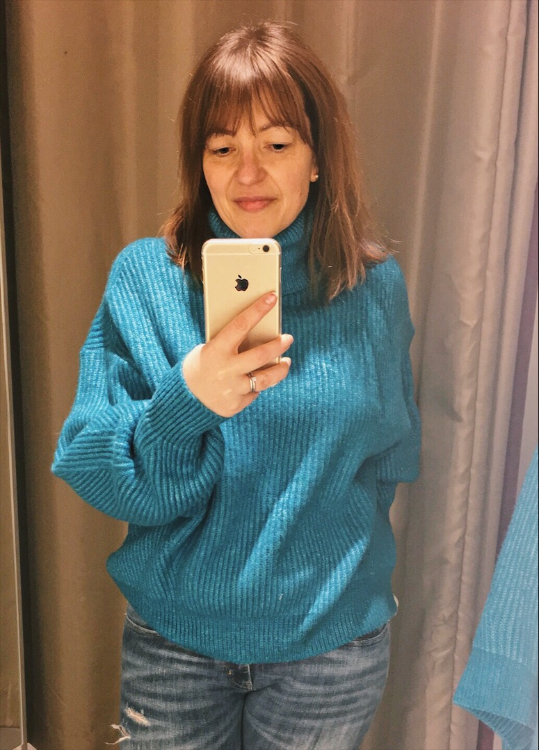 H&M blue jumper