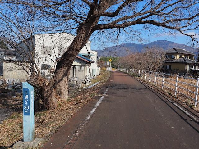 つくばりんりんロード 土浦から30km