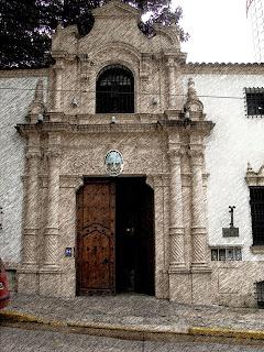 Entrada do Museu de Arte Hispano-Americana, Buenos Aires