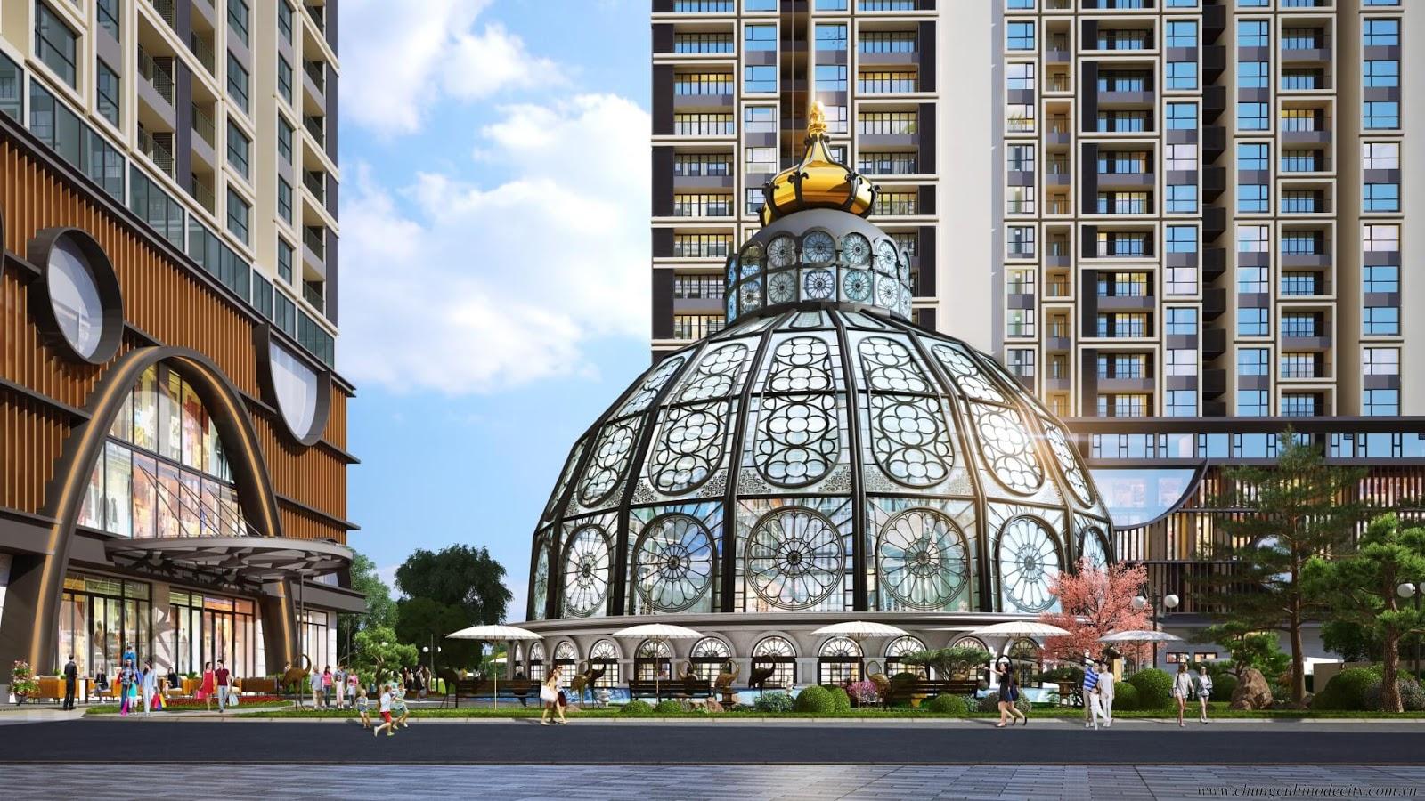 Hinode City điểm nhấn kiến trúc phong cách Nhật Bản