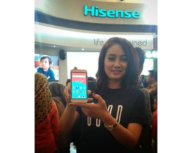 Hisense Pureshot Lite, Smartphone Quad Core Marshmallow 4G LTE