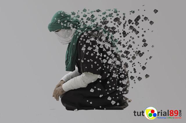 Cara membuat efek foto dispersion dengan photoshop