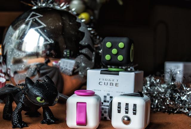 Fidget Cube Feliz Solsticio de invierno