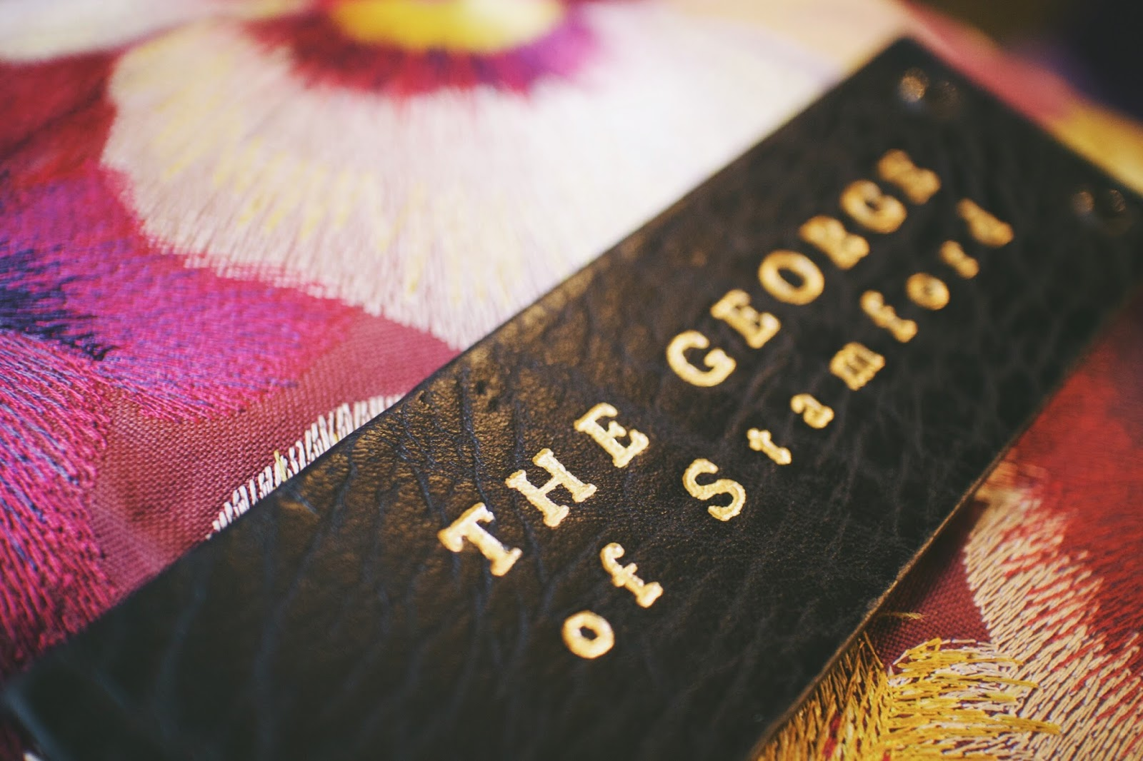 the george stamford room key