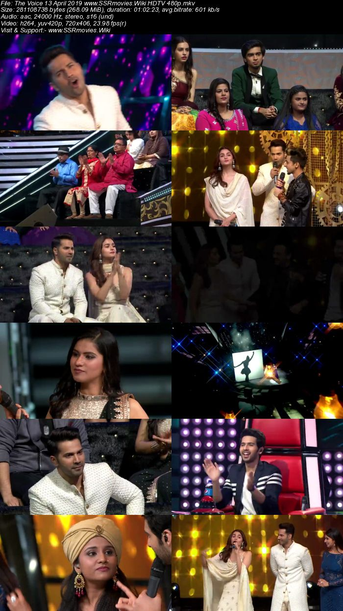 The Voice 13 April 2019 HDTV 480p Full Show Download