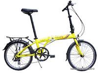 Sepeda Lipat FoldX Hokaido 7005 Aluminium Alloy 20 Inci