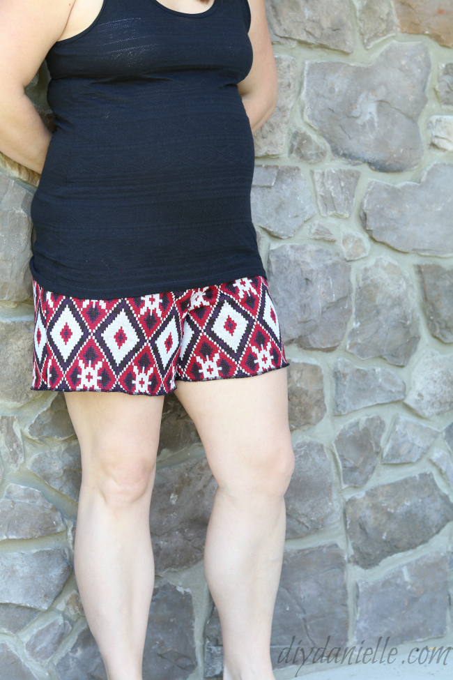 Palazzo pattern from Patterns for Pirates with maternity band