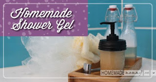 Easy Homemade Shower Gel