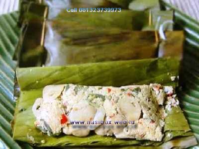 Resep pepes tahu jamur tiram nasi box walini ciwidey