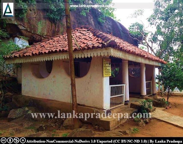 The cave temple, Gampaha Asgiriya Viharaya