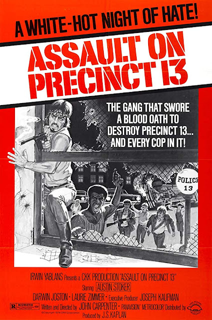 Assault on Precinct 13 1976 movie poster