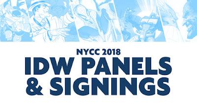 IDW New York Comic Con 2018