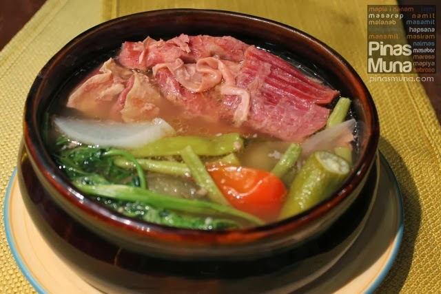 Sinigang na Corned Beef by Sentro 1771