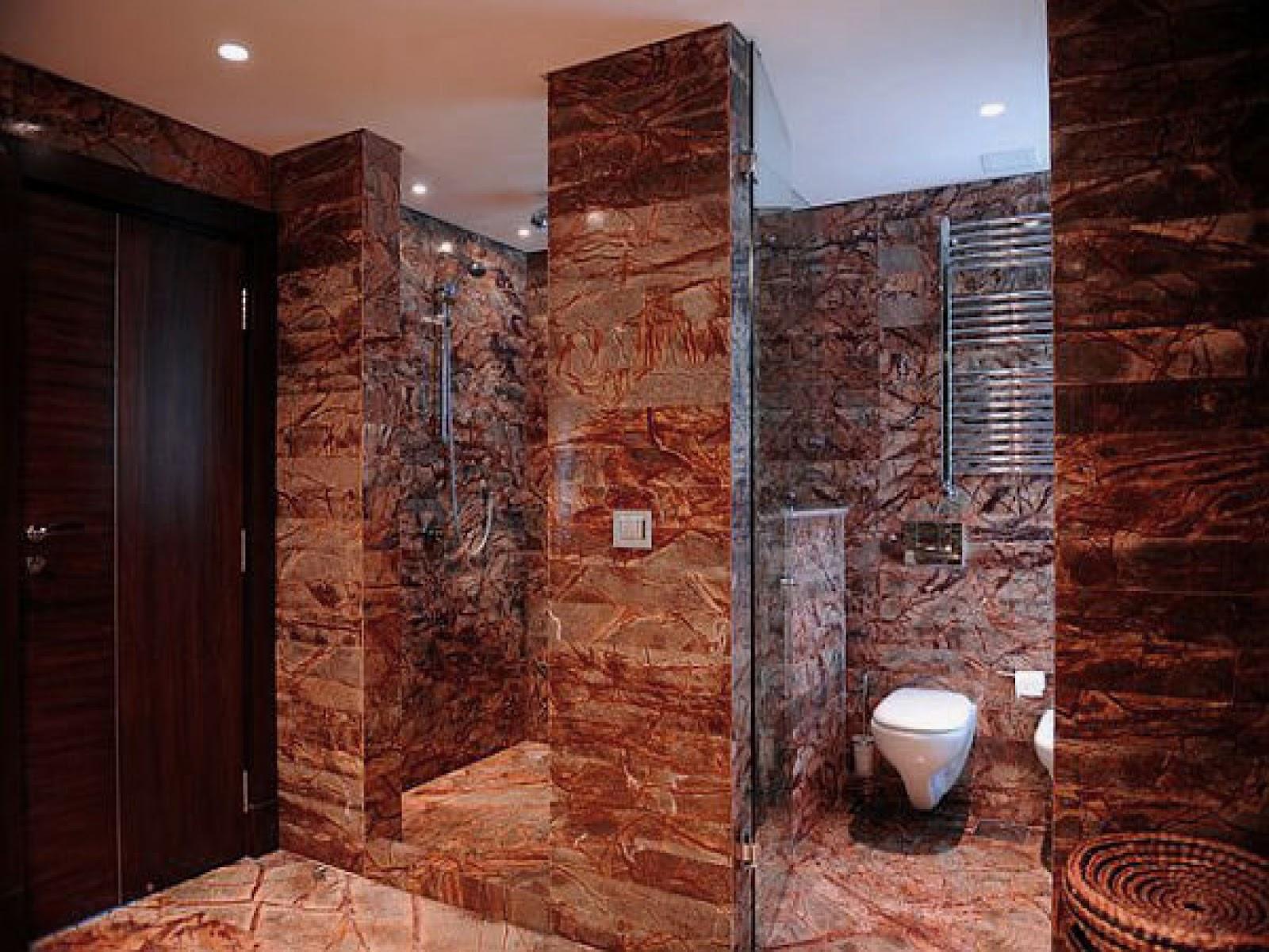 Foundation Dezin & Decor...: Elegant Bathroom Design ... on Bathroom Tile Pattern Design  id=43223