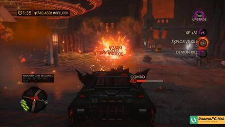 Saints Row Gat Out of Hell Gameplay Screenshot