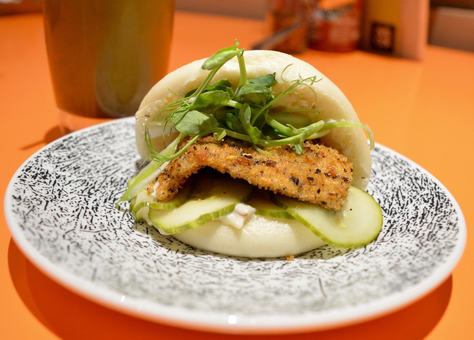 Ko Sai Newcastle - Fixed Price Lunch Menu | A Review - Salt and Pepper Chicken Bun