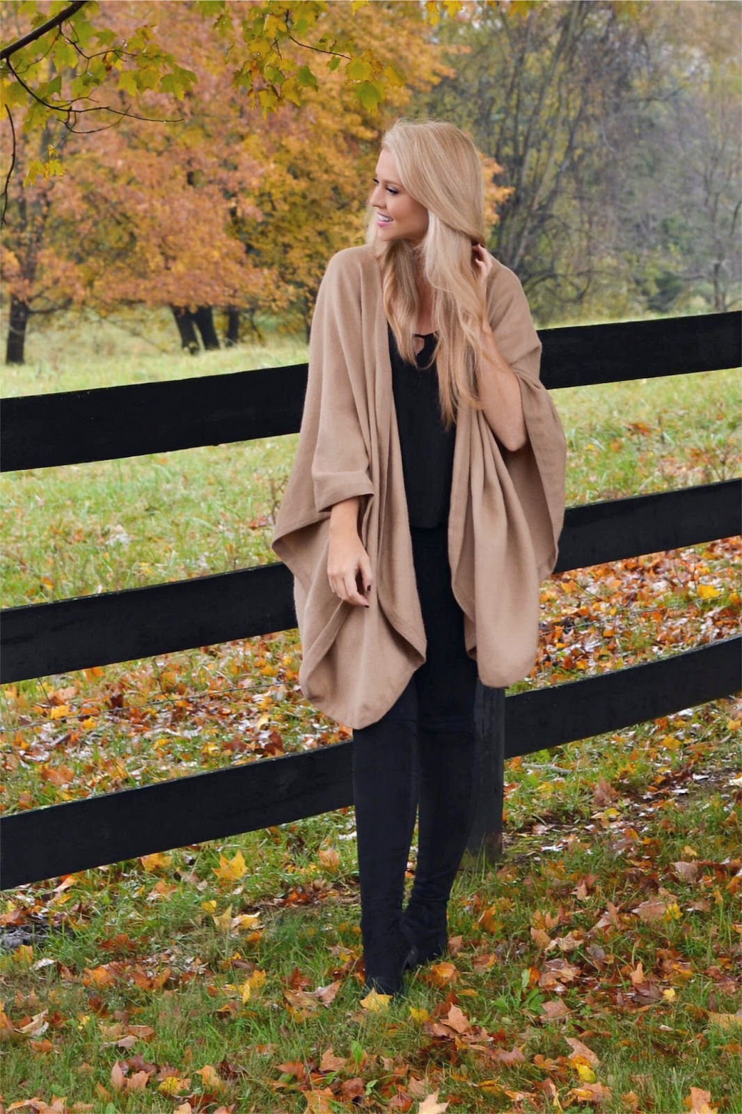 cape outfit for fall