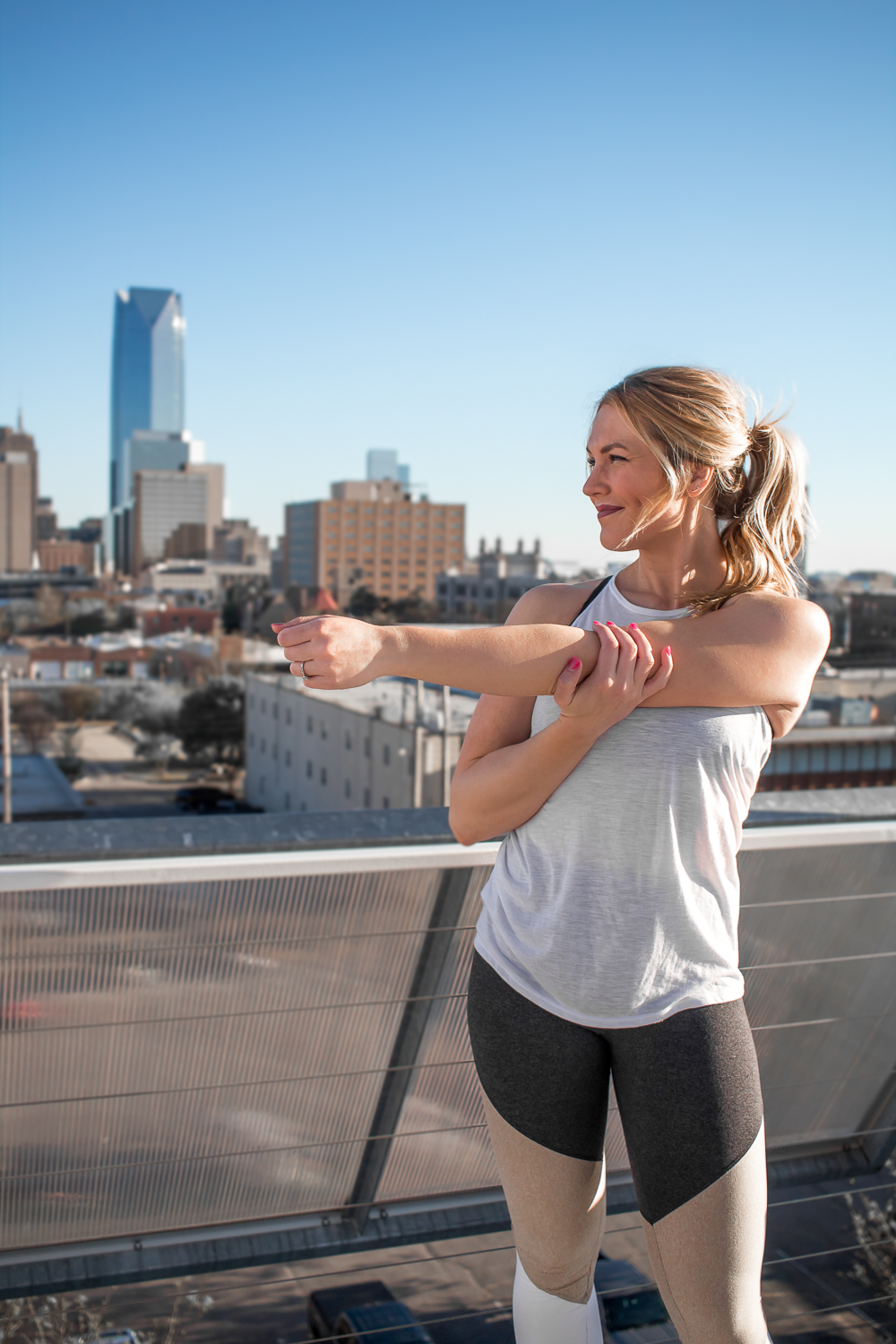 oklahoma city rooftop workout