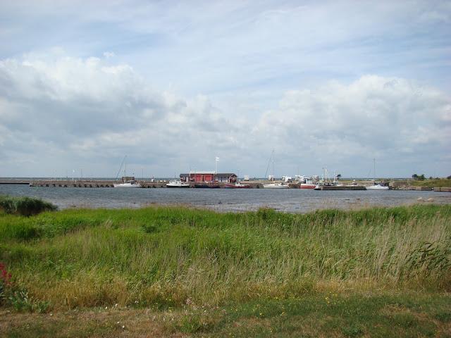 Grönhögen - widok na port