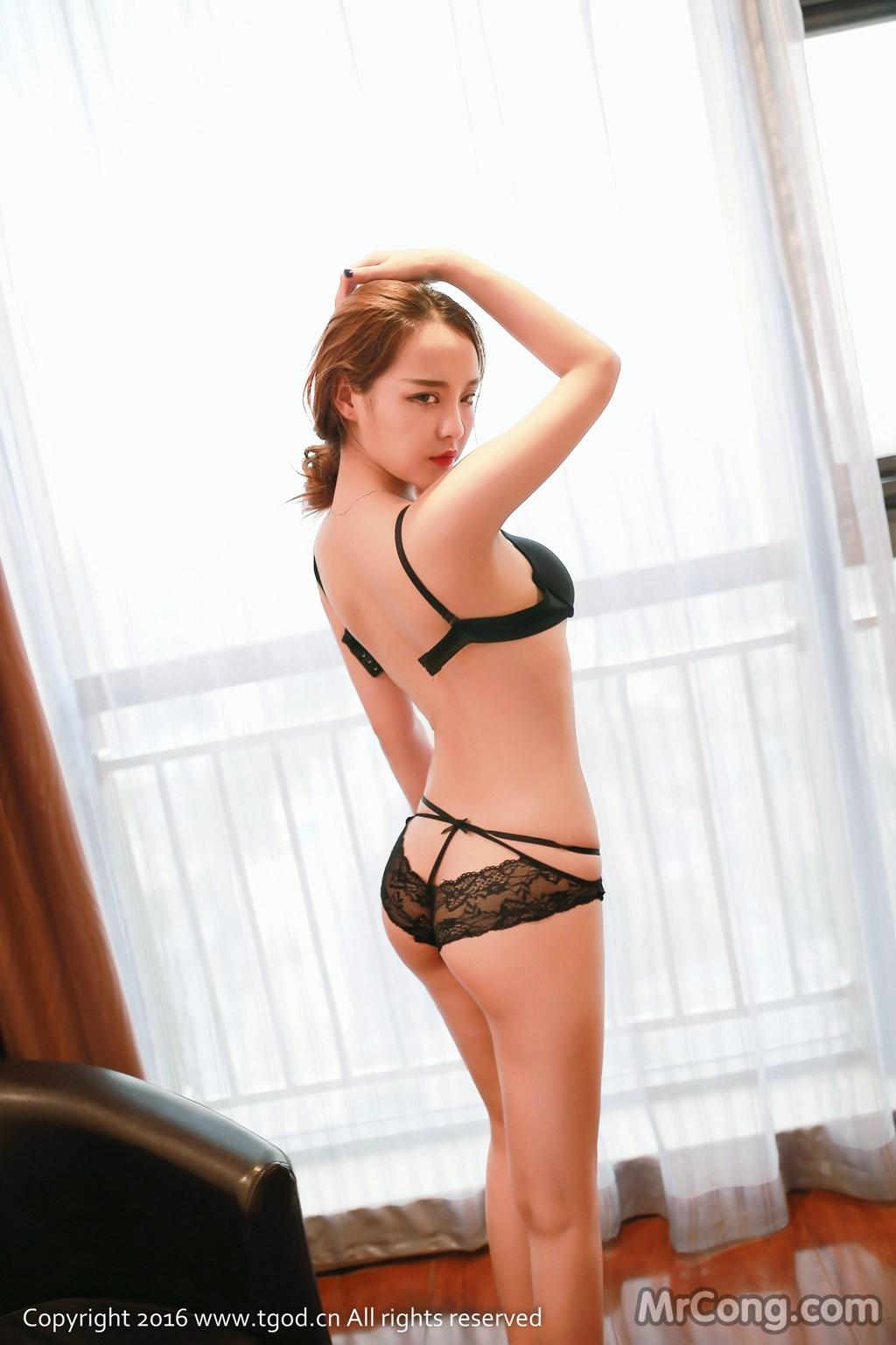 Image MrCong.com-TGOD-2016-07-22-Zhan-Ni-Hua-017 in post TGOD 2016-07-22: Người mẫu Zhan Ni Hua (珍妮花) (40 ảnh)