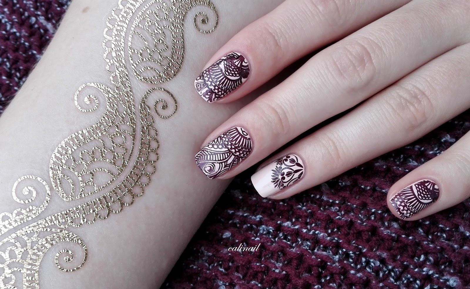 leichte henna muster beautiful excellent excellent. Black Bedroom Furniture Sets. Home Design Ideas
