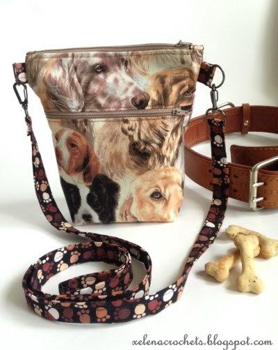 сумка для прогулок с собакой своими руками