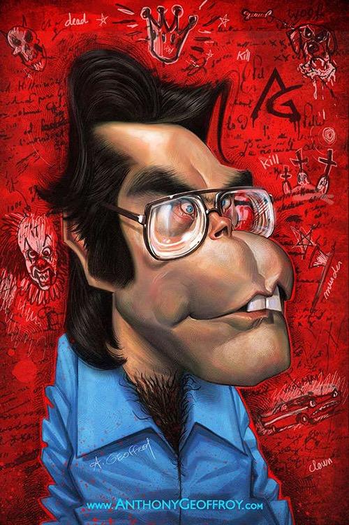 Stephen King por Anthony Geoffroy
