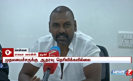 Did not announce support to CM O Pannerselvam : Lawrence