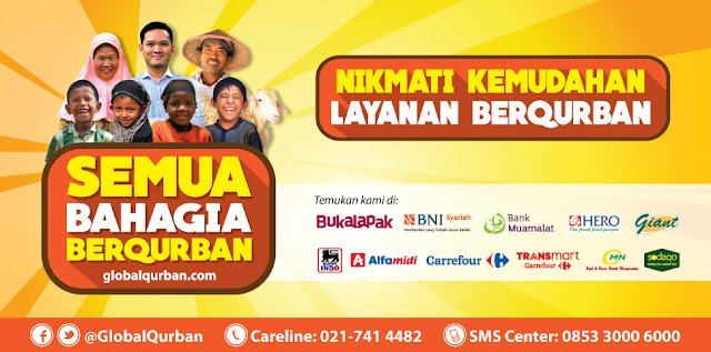 berqurban dengan act global qurban