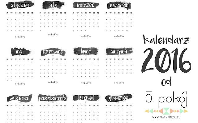 Do pobrania: Kalendarz na rok 2016 - CZYTAJ DALEJ