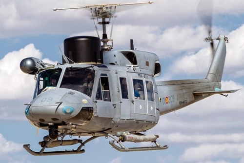 La Armada española recibe el segundo helicóptero del Programa de Extensión de Vida del AB212