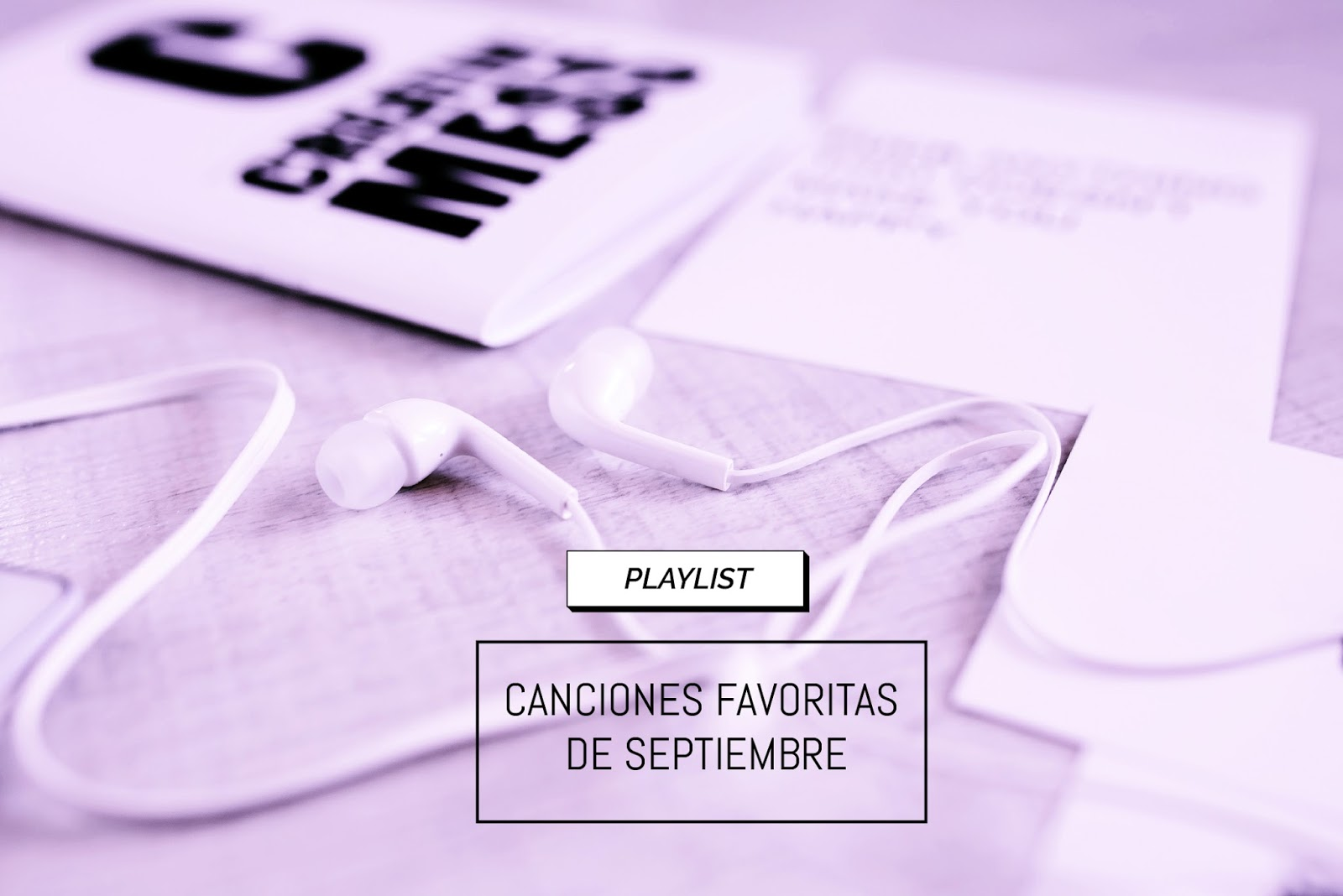 playlist favoritos de septimbre
